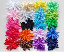 korker ribbon 4 korker hair bow hairs curly grosgrain ribbon bows corker