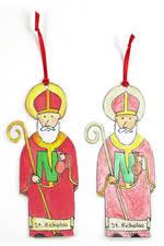 st nicholas center ornaments decorations