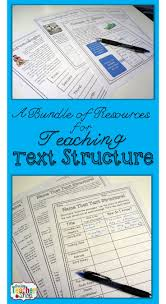 49 best text structures images on pinterest teaching ideas