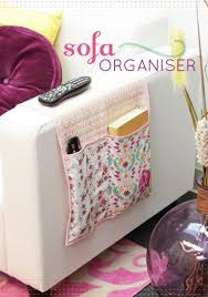 Armchair Organizers Creative Storage 8 Diy Sofa Caddies And Holders Shelterness