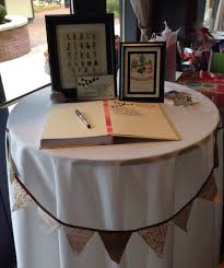 woodland baby shower welcome table tandem in love