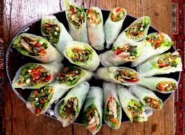 paper wraps food intolerance friendly rice paper rolls