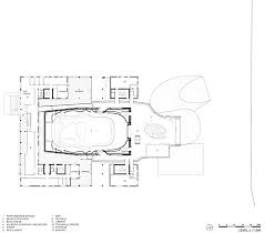 orchestra floor plan coop himmelb l au u0027s house of music concert hall in aalborg denmark