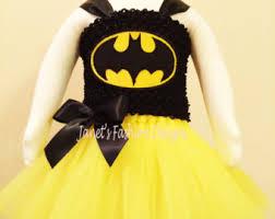 Halloween Costumes Batgirl Batman Tutu Dress Etsy