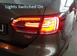 2011 vw cc led tail lights cbx rns510 accessories jetta everything