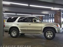 toyota 4runner 1999 limited 1999 toyota 4runner 4dr limited 4wd suv in lakewood wa leading
