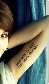 cool and arm quote tattoos bicep ideas for and