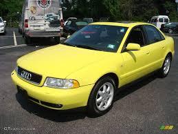 2001 audi a4 1 8t 1999 brilliant yellow audi a4 1 8t quattro sedan 15453668