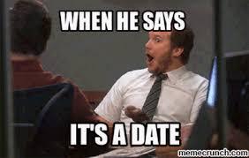 Date Meme - a date