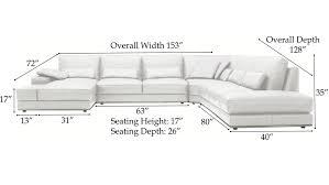 chaise sofa dimensions thesecretconsul com