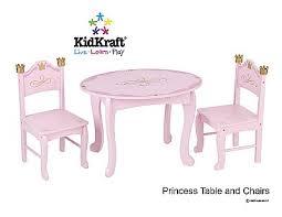 kidkraft princess table stool princess table and chairs madeleine elise pinterest