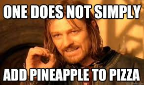 Grandma Finds The Internet Meme - banning pineapple on pizza pmq pizza magazine