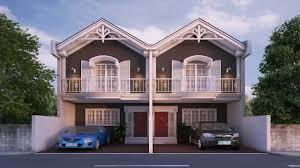 Modern Duplex House Design Philippines