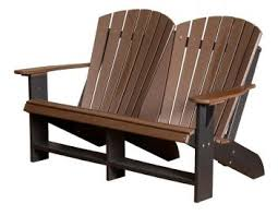 Adirondack Bench Recycled Plastic Adirondack Chairs Countryside Amish Furniture