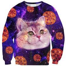 Cat Heavy Breathing Meme - heavy breathing cat pizza sweater shelfies