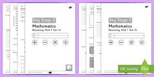 ks2 reasoning pack maths year 6 sats assessment progress