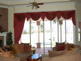 Bathroom Window Valance Ideas Appealing Swag Curtains For Living Room Design U2013 Swag Window