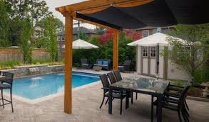 pergola design ideas retractable roof pergola shadefx retractable