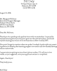 sample thank you letter after a job interview for trainee