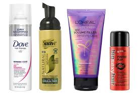 best curl enhancer for thin hair 10 volumizing hair products under 20 allure