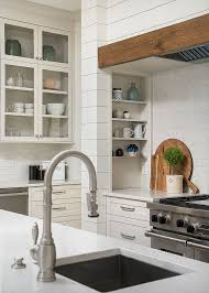 satin nickel white kitchen love everything about this waterstone model 5200 in satin nickel finish kitchen faucet