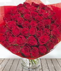 Roses Bouquet Divine Ultimate Romantic Bouquet Of 50 Red Roses