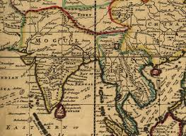 Varanasi India Map by India As Depicted In Herman Moll U0027s