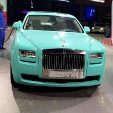roll royce ghost blue tiffany blue rolls royce ghost in saudi exoticspotting