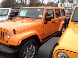 rubicon jeep colors crush orange 2012 wrangler unlimited sahara with color match top