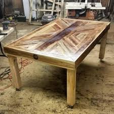 Redwood Dining Table Mettle And Wood