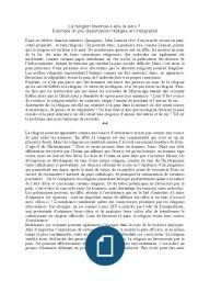 culturelle dissertation diversite exemple tourisme   Documents
