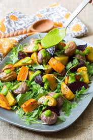 Green Root Vegetable - roasted root vegetables salad a spicy perspective