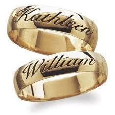 wedding ring with name engraved 15 best wedding rings images on wedding bands promise