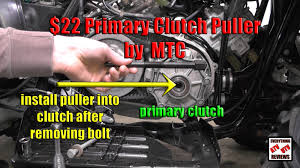 everything atv utv reviews primary clutch puller tool to change