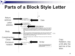 awesome collection of business letter block format with enclosure