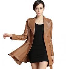 leather in froke pattern genuine sheep leather jacket ljk37