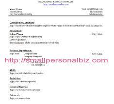 sample highschool resume 10 high resume templates free