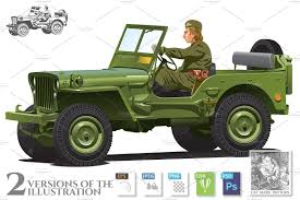 halloween background ww2 world war two army jeep illustrations creative market