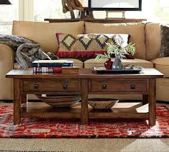 Rustic Mahogany Coffee Table Pottery Barn Coffee Tables Pottery Barn Apothecary Coffee Table S