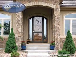 Steel Interior Security Doors Security Doors Security Storm Doors Wrought Iron Secure All