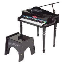 Learn Bench Melissa U0026 Doug Learn To Play Classic Grand Piano With 30 Keys