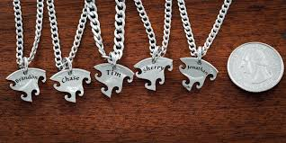 best friends puzzle necklace images 5 best friend necklace custom name necklaces interlocking puzzle jpg