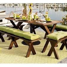 picnic table seat covers picnic table bench cushions baka 233