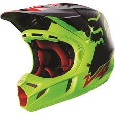 helmet motocross fox racing 2016 v4 libra helmet yellow available at motocross giant