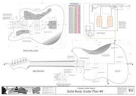 choice autocad guitar templates ska wood