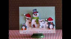make your christmas card part 17 how to make your own christmas