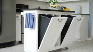 kitchen island with garbage bin 10 hacks for your kitchen island