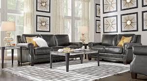 black brown u0026 charcoal living room furniture ideas u0026 decor