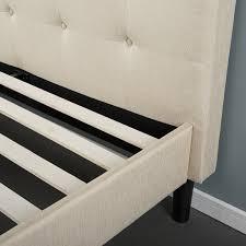King Upholstered Platform Bed Bed Frames Crystal Headboard Beds King Upholstered Platform Bed