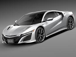 honda supercar 2016 nsx 3ds